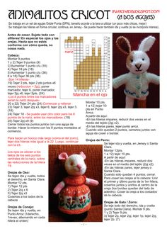 Page 1 of 4 Knitted Doll Patterns, Animal Knitting Patterns, Christmas Knitting Patterns, Knitted Dolls, Stuffed Animal Patterns, Baby Knitting Patterns, Simply Knitting, Knitting For Charity, Little Cotton Rabbits