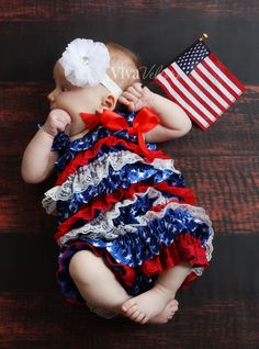 Patriotic & Holiday Outfits from Princess Bowtique