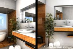 Molo Architecture bathroom render on www.firstinarchitecture.co.uk