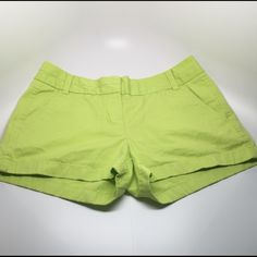 """J. Crew Shorts Excellent condition - look & feel brand new!  They are 100% cotton and measure about 11"""" in length from the waist to the bottom. J. Crew Shorts"""