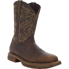 "Men's 11"" Pull-On Wellington Work Boot - Workin Rebel by Durango - Style #DB4244 - Durango Boot Company"