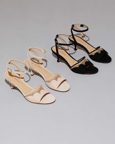 8cf4fb6cf4e A party-ready spring sandal with all the right elements  a feminine kitten  heel