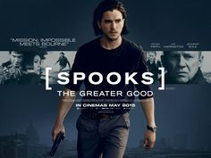 Spooks The Greater Good quad movie poster
