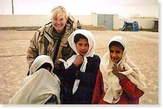 Paula Loyd in Afghanistan The Quivering Pen: How to Tell a War Story: The Tender Soldier by Vanessa Gezari