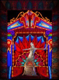 We spoke to David Hoey, the man in charge of dressing Bergdorf Goodman's legendary holiday displays. Visual Merchandising, Christmas Windows, Visual Display, Display Design, Display Ideas, Set Design, Shop Interior Design, Retail Design, Design Art Nouveau