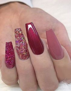 We have carefully collected the good nail colors for gorgeous fall manicure which are nail trends now and really worth trying! Fancy Nails, Pink Nails, Cute Nails, Pretty Nails, Gel Nails, Coffin Nails, Glitter Nails, Smart Nails, Pastel Nails