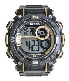 It's TIME to give your spirit an uplift. Whatever adventure rams you, your BENCH TIME watch is more than willing to take the ride with you. Casio Watch, Watches For Men, Store, Accessories, Men's Watches, Larger, Shop, Jewelry Accessories