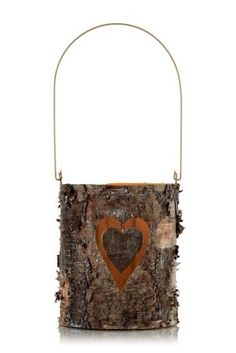 Love this rustic candle holder by @nextofficial