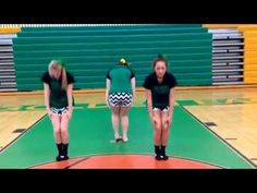 RMS CHEER TRYOUT DANCE 2015 - Music is the 2010 Cheer Mix. - YouTube