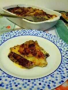 Lasagne di crespelle con verdure e mozzarella