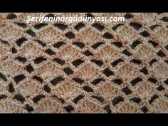 How To Finger Crochet, Episode 7 - Crochet Cowel Crochet Cowel, Crochet Jumper, Crochet T Shirts, Crochet Shell Stitch, Crochet Cardigan Pattern, Crochet Stitches, Finger Crochet, Quick Crochet, Cute Crochet
