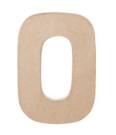 """ArtMinds Paper Mache Letter, 8"""""""