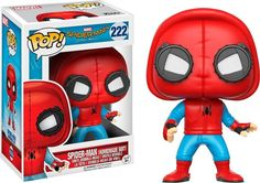 Funko - POP! Marvel Spider-Man Homecoming: Spider-Man (Homemade Suit) - Multi, 13315-PX-1SB