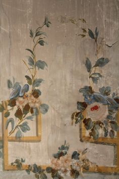 Mural I century Chinoiserie, Wall Murals, Wall Art, Grisaille, Of Wallpaper, Peeling Wallpaper, Paint Furniture, Colour Schemes, Decoration