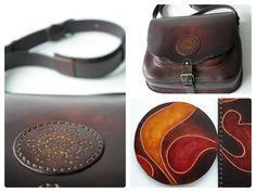 #leather #bag #handmade