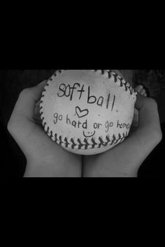 """""""I miss fastpitch dearly.slowpitch is my new found love Just for you, Courtney Softball Photos, Girls Softball, Softball Players, Softball Stuff, Softball Crafts, Softball Things, Softball Cheers, Softball Rules, Softball Decorations"""