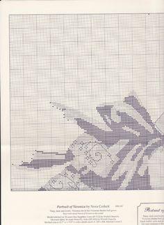 Gallery.ru / Фото #3 - MD147 - Veronica - alandazc Cross Stitching, Pattern Fashion, Veronica, Cross Stitch Patterns, Tapestry, Embroidery, Crochet, Crossstitch, Fairy