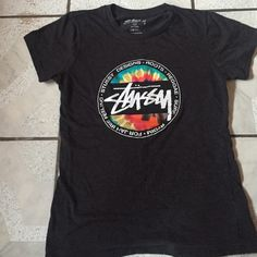 Stussy shirt Wore it once but don't really wear tees that often. It is a woman's tee. Stussy Tops Tees - Short Sleeve
