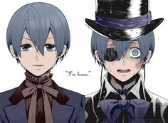 The fake ciel shocked and the real ciel rocked