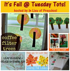 It's Fall at Tuesday Tots! {In Lieu of Preschool}