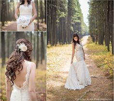 Forest Wedding in Cypress Hills - Cristal King Photography