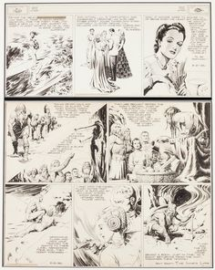 Alex Raymond Flash Gordon and Jungle Jim Sunday Comic Strip | Lot #92033 | Heritage Auctions