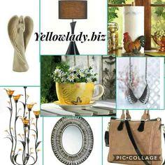 Beautiful Home and Office decor and Gifts Www.yellowlady.biz #yellowladyliving
