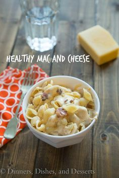 Healthy Stovetop Mac and Cheese