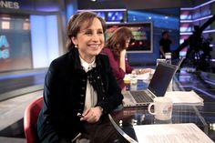 Carmen Aristegui y Patricia Janiot