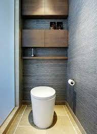Aménagement WC peinture grise pour agrandir l\'espace | Wohnzimmer