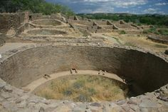 Great Kiva, Aztec Ruins national Monument, New Mexico