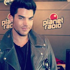 adam lambert has been the smartest  tune in tomorrow morning to #franzen and #boomchicaleni #planet #adamlambert #interview #glamberts #planetradio #hessen #germany #ghosttown #whatayawantfromme #star #singer #music #musician #usa #boy #radio #americanidol @adamlambert
