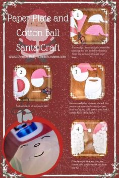 This easy craft is perfect for toddlers and preschoolers! Click to get access to a free Santa hat stencil, available for immediate download, plus Santa coloring pages and Santa pictures for a shaving cream sensory activity! All this, and more, in my Christmas Guide! #Christmas #Santa #ChristmasCraftsForKids Santa Crafts, Christmas Crafts To Make, Easy Crafts For Kids, Easy Diy Crafts, Christmas Activities, Christmas Fun, Activities For Kids, Santa Coloring Pages, Christmas Thoughts