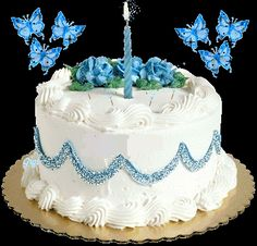 Butterflies images Birthday Cake for Susie wallpaper and background photos Image Birthday Cake, Happy Birthday Cake Photo, Happy Birthday Cake Pictures, Happy Birthday Video, Happy Birthday Girls, Art Birthday, Happy Birthday Wishes Images, Happy Birthday Celebration, Happy Birthday Greetings