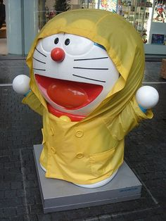 Statues that get their own raincoat   14 Things You Will Only Find In Japan @Amanda Northfell