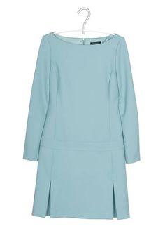 Robe droite TURQUOISE by TARA JARMON  Avec le patron du Burda couture facile AH 2012