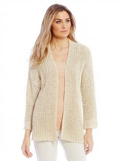 72.27$  Buy now - http://viimr.justgood.pw/vig/item.php?t=nyhb79641505 - L EILEEN FISHER Soft White Chunky cotton Linen Rib Straight Cardigan Sweater NWT 72.27$