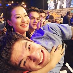 Tyler Posey, Arden Cho and Dylan Sprayberry at The 2015 MTV Movie Awards.