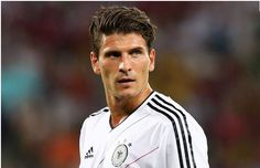 One of our Favorite Euro 2012 Semi-Finals Football Players is #23 of die MannSchaft: Mario Gomez.