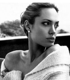 Immaculate! Angelina looks flawless in this simple shot!