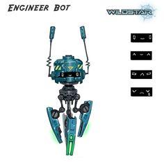 Wildstar Engineer Repair Bot