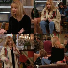 Phoebe Buffay. Love this shade of blonde! Friends.