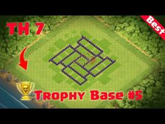Clash of Clans - Town Hall 6 Defense (CoC Trophy Base Layout Defense Strategy Town Hall 6, Trophy Base, Clash Of Clans, Youtube, Youtubers, Youtube Movies