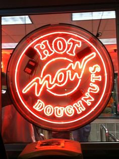 Hot & Ready! ---------- MY ABSOLUTELY FAVORITE!!!!!!!! IMHO there is NO better doughnut than Krispy Kreme!!!!!