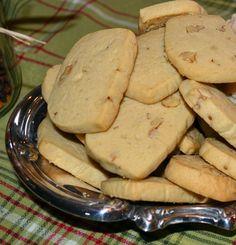 My Grandmother's Ice Box Cookie Recipe (Paleo Brownies Cookies) Cookie Desserts, Cookie Recipes, Dessert Recipes, Baking Cookies, Refrigerator Cookies Recipes, Icebox Cookies, Icebox Cookie Recipe, Depression Era Recipes, Walnut Cookies