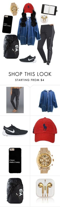 """Dance Audition"" by supremeregine ❤ liked on Polyvore featuring adidas, NIKE, Polo Ralph Lauren, Wet Seal, Y-3 and Mulberry"
