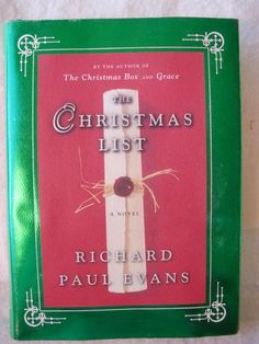 Anything Richard Paul Evans if a favorite of mine