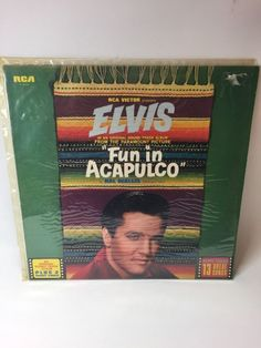 "ELVIS PRESLEY LP-"" FUN IN ACAPULCO "" - PL42357 Orange Label,Graceland,Memphis in Music, Records, Albums/ LPs 