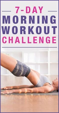 7-Day Morning Workout Challenge