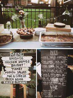 A DIY Boho Backyard Wedding by Lauren Apel Photography - Wedding Party